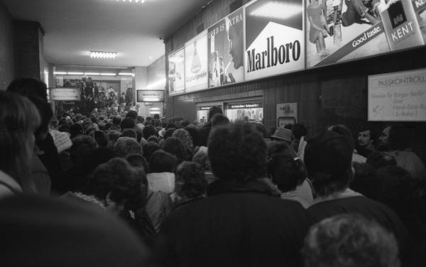 Berlin. Vendredi 17 Novembre 1989.