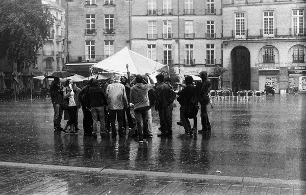 Chorale militante-Place Bouffay-Nantes Mai