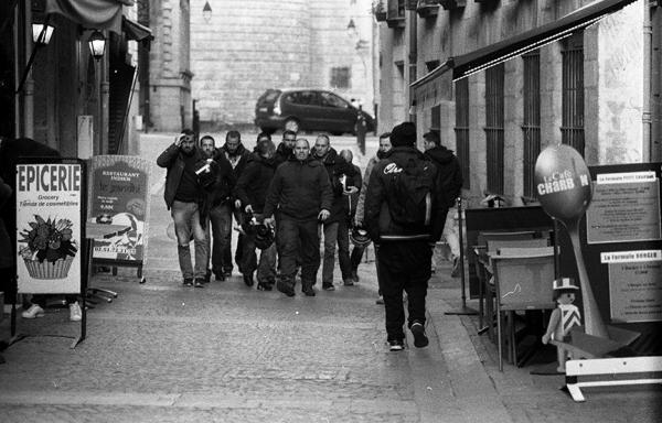 """Manifestations contre la """"loi Travail""""-Relève de la bAc-Nantes quartier Bouffay"""